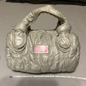 Marc Jacobs Hand Bag (Grey/Pink)